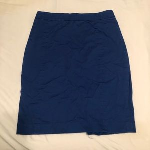 Blue H&M pencil skirt